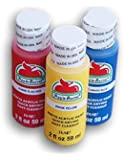 Primary Colors Matte Acrylic Paint Set - Red, Blue, Yellow
