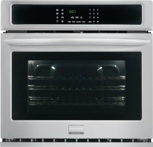 Frigidaire FGEW3065PF FGEW3065PF-Gallery 30″ Electric Single Wall Oven-Convection, 30 inches, Stainless Steel