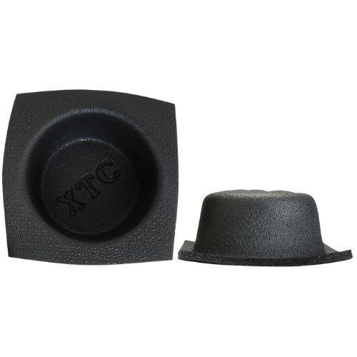 (Vertek/XTC XTC 6-1/2 Round Small Frame Shallow Foam Baffle Pair)