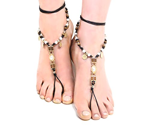 Bohemian Style Barefoot Sandals Anklet product image