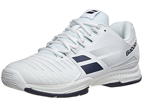 Babolat SFX All Court Mens Tennis Shoe (9.5 White/Blue)