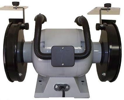 1//2 HP Ball Bearing 6 Dual Wheel Grinder Flexible Lamp 3550 RPM