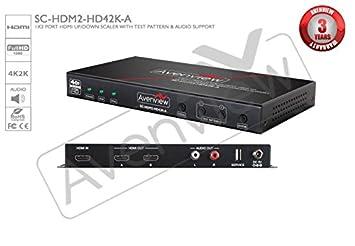 Ultra HDMI 4K 1080p Video Scaler With HDMI Pass-Through