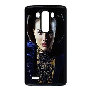 Padme Star Wars funda LG G3 Negro de la cubierta del teléfono celular de la cubierta del caso funda EOKXLKNBC16521