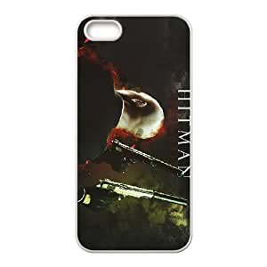 Hitman Absolution iPhone 5 5s Cell Phone Case White xlb2-087522