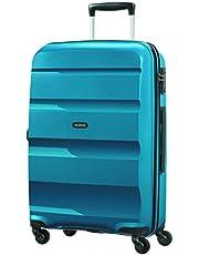 American Tourister Bon Air - Equipaje de mano, Azul (Seaport Blue), M (66cm-57.5L)