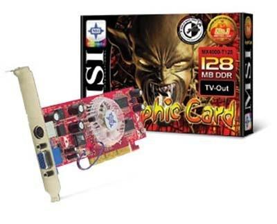 Amazon.com: micro-star MX4000 8 x AGP de 128 MB tarjeta de ...
