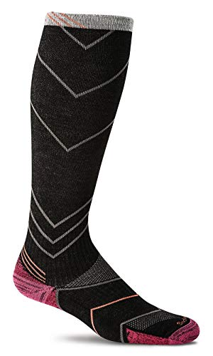 Sockwell Women's Incline Graduated Compression, Black, Medium/Large