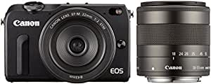 Canon EOS M2 Nera + M18-55 IS STM + M22 STM + EF-EOS M + 90EX