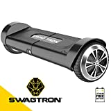 Swagtron 82082-2 Swagboard Duro T8 Lithium-Free Hoverboard Startup Self Balancing and Durable Metal Casing Supports Up To 200 Lbs UL2272 Battery , Black, One Size