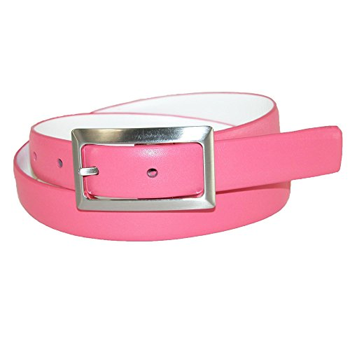PGA TOUR Women's Leather Reversible Golf Belt with Center Bar Buckle, Small
