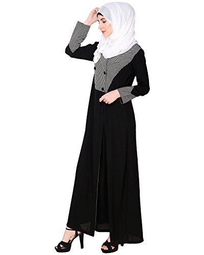 Modest Forever Classic Black Coat Abaya by modestforever (Image #1)