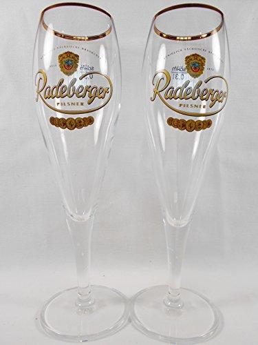 Radeberger Pilsner Beer Chalices | Set of 2 | 0.33 L (Radeberger Beer)