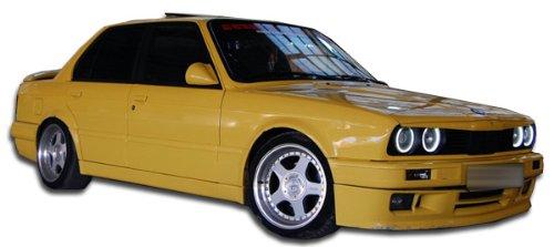 1984-1991 BMW 3 Series E30 2DR Duraflex M-Tech Side Skirts Rocker Panels - 2 Piece 105046