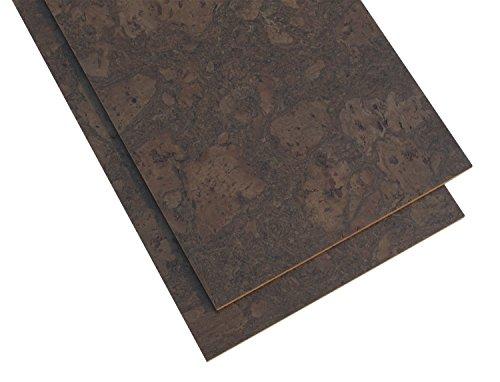 (Forna Cork Tiles - 8mm Walnut Burl Cork Tiles 6