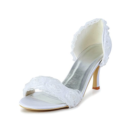 pour Minitoo femme Ivory Heel Sandales 8cm vq5q81