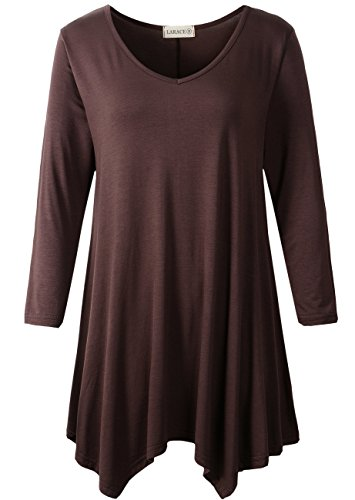 V-neck Knit Tunic - 3