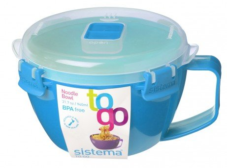 (Sistema To Go Microwave Noodle Bowl, Light Blue)