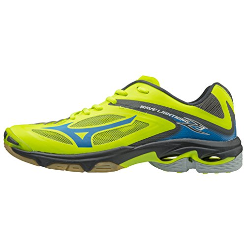 Mizunowave Lightning Z3 - Zapatillas de Voleibol - Strong Blue/White/Orange Clown Fish