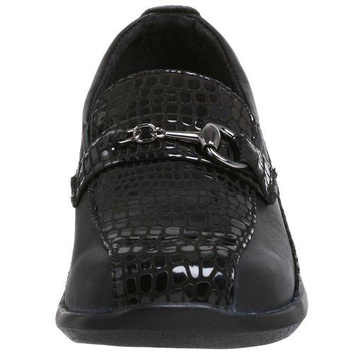 Aetrex Kvinna Alligator Slip-on Black Alligator