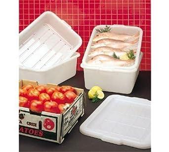 Tablecraft - Caja de drenaje para congelador de 5 pulgadas con ...