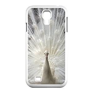 Cell phone case Of Peacock Bumper Plastic Hard Case For Samsung Galaxy S4 i9500
