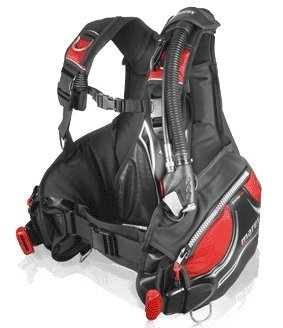 Mares Prestige BC with MRS Plus Weight Pockets - Black/Red - Small