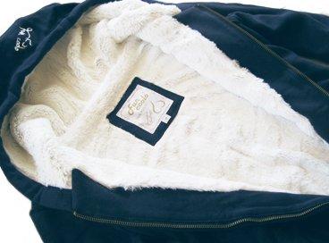 E Con Bianco Blu Fun Cappuccio Giacca Coolo Zip Lh2 Invernale Nero XXtFfq