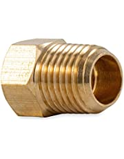 """Camco 59953 Propane Fitting - 1/4"""" Male NPT x 1/4"""" Female Inverted Flare"""
