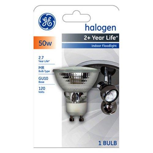 GE Halogen 84901 50-Watt, 400-Lumen MR11 Spotlight Bulb with GU10 Base, (Ge Edison Bulbs)
