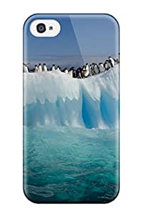 Best New Diy Design Penguins On Ice For Iphone 6 plus 5.5 Cases Comfortable For Lovers And Friends For Christmas Gifts