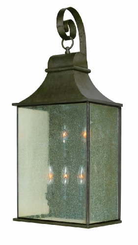 World Imports WI6130606 Dark Sky Revere Collection 5-Light Flemish Outdoor Wall Lantern Flemish 5 Light