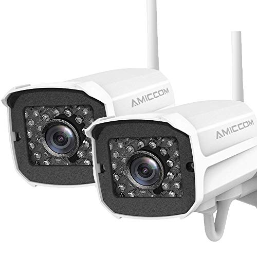 AMICCOM 1080P Outdoor Security Camera