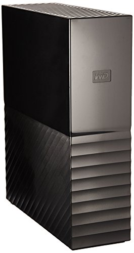 WD 8TB  My Book Desktop External Hard Drive - USB 3.0 - WDBBGB0080HBK-NESN by Western Digital