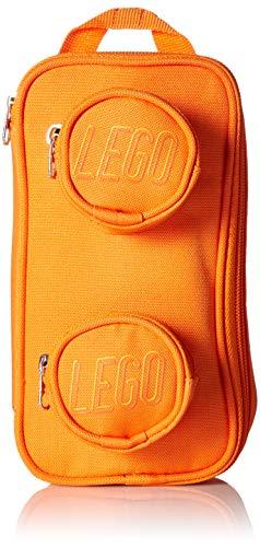 LEGO Kids' Brick Pouch, Orange, One Size