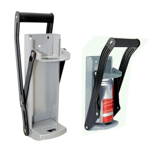 Olayer 500ml Wall Mounted Can Crusher Beer Cans Crushing Recycling & Bottle Opener Home