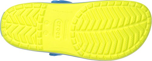 Crocs tennis ball green/ocean, US Men US Women