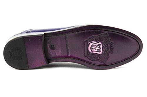 Melvin & Hamilton - Zapatos de cordones de charol para mujer morado morado 37