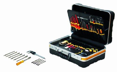 Bernstein Werkzeug Service-Koffer Teledata mit 80 Werkzeugen, 6700