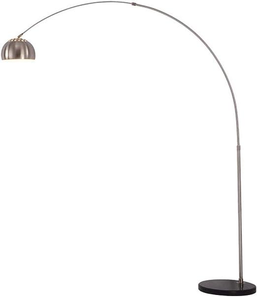 XDLUK Lámpara De Pie De Arco Ajustable con Base De Mármol, 79 Pulgadas: Amazon.es: Hogar