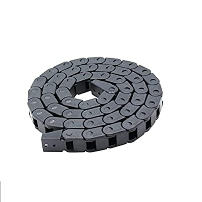 UKCOCO 7 x 7mm Semi Enclosed Plastic Cable Wire Carrier Drag Chain for 3D Printers