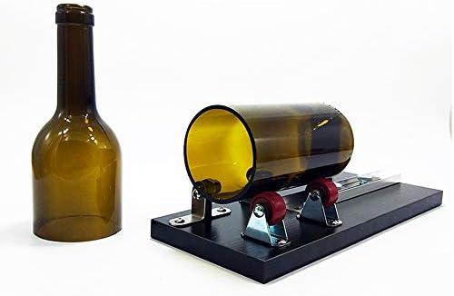 Cortadora De Botellas De Vidrio para Botellas Redondas, Kit De ...
