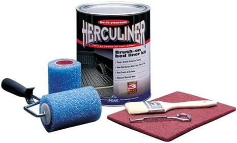 Herculiner Grey Kit 6 foot Truck Bed Roll on Bedliner Kit