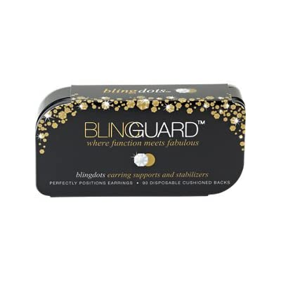 nice Blingguard Blingdots Box Of 90 Earrings on sale