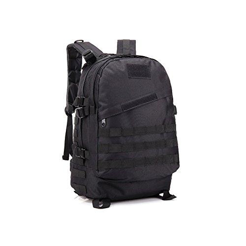 (BLACK HAWK COMMANDOS 40L Military Tactical Backpack Assault Pack Combat Backpack Trekking Molle Bug Out Bag Black )
