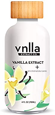All Natural Baking Vanilla Extract + 4oz - vnlla Extract Co. - Sustainably Sourced from Madagascar | Perfect f
