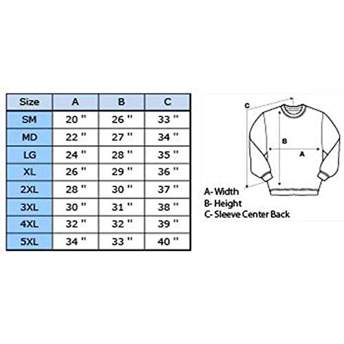 2575571e305cee NuffSaid Dilly Dilly Crown Premium Crew Neck Pullover Sweatshirt ...