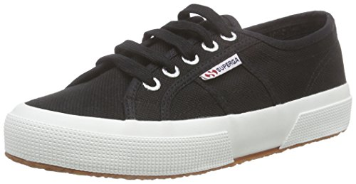 f83 2750 Classic Basses cotu Mixte Baskets Superga Black Adulte Noir zqPfdW