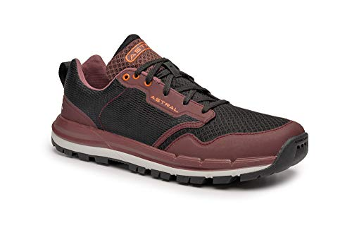 (Astral Men's TR1 Mesh Minimalist Hiking Shoes, Quick Drying and Lightweight, Made for Water and Trails, Beet Red, M14)