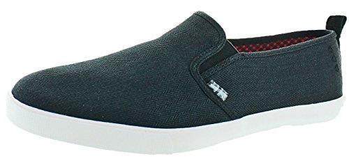 Ben Sherman Men's Bradford Slip on Fashion Sneaker, Black, 10 M US (Ben Sherman Casual Shoes)